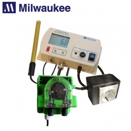 Milwaukee MC720, pH kontroler pro měření a regulaci pH v hydroponii