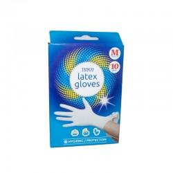 Latexové rukavice 10 ks