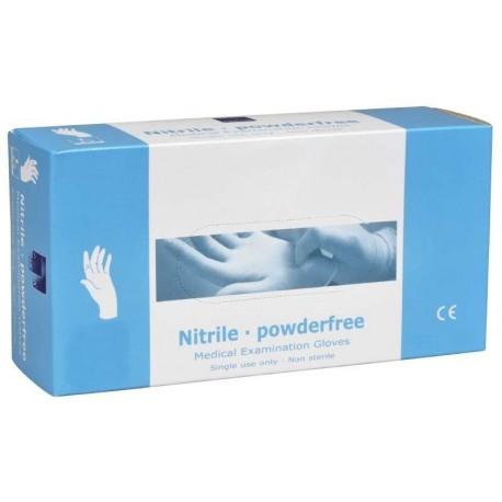 Nitrilové rukavice bílé, balení 200ks