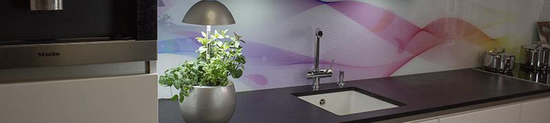 Kuchyňské interiérové zahrady jsou originální bytový doplněk