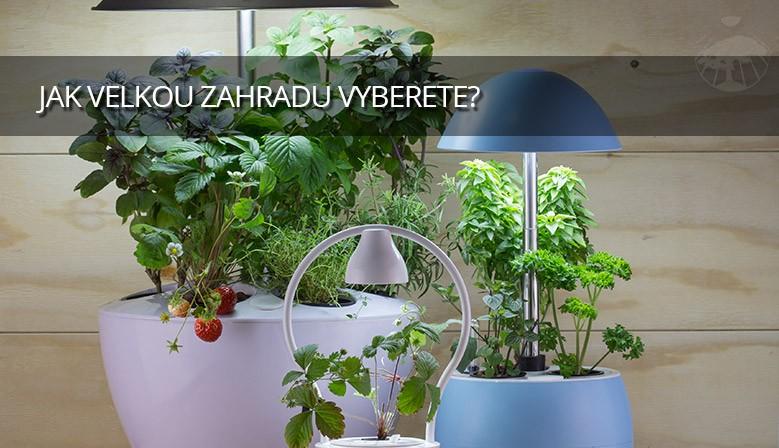 Vyberte si ze zahrad pro jednu, tři nebo šest rostlin